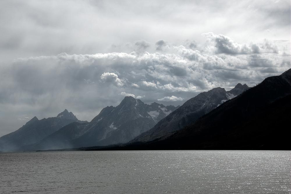 The Grand Teton Mountains, Wyoming