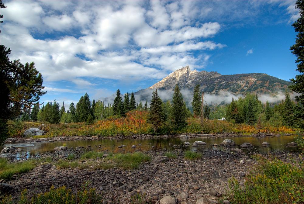 Grand Teton Mountains, Wyoming