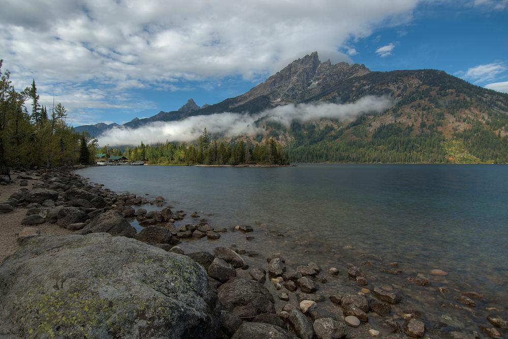The Grand Teton Mountains near Jackson Hole, Wyoming