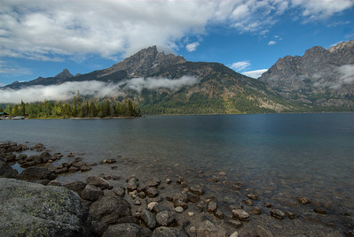 Snake River with a view of Teton Range in Grand Teton National Park