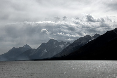 Teton Range and Snake River in Grand Teton National Park, Wyoming