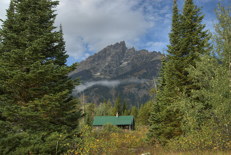 Teton Range in Grand Teton National Park, Wyoming