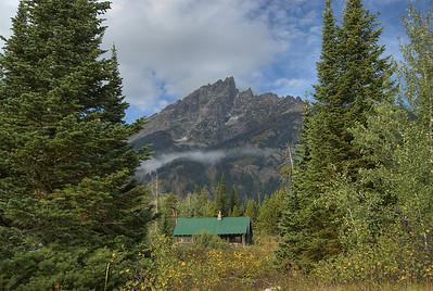 Teton Range in Grand Teton National Park, Wyoming
