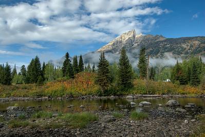 Grand Teton Mountains - Jackson Hole, Wyoming