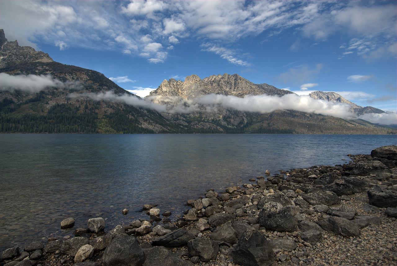 Snake River and Teton Range in Grand Teton National Park, Wyoming