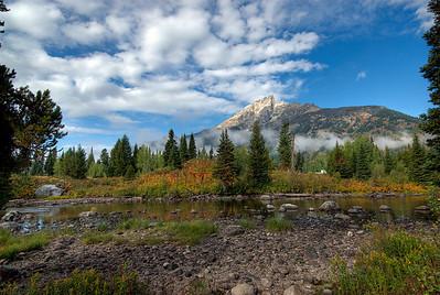 The Teton Range at Grand Teton National Park, Wyoming