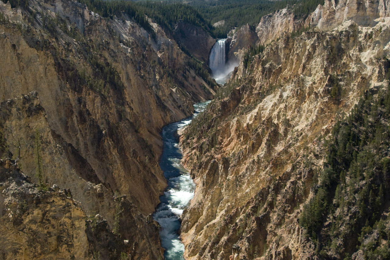 The Grand Canyon of Yellowstone - Wyoming