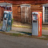 Gas station of a bygone era