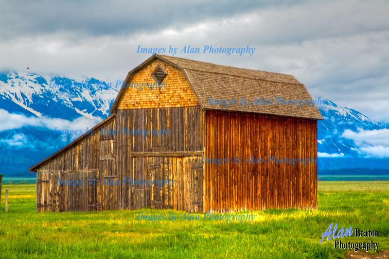 Mormon Row Barn