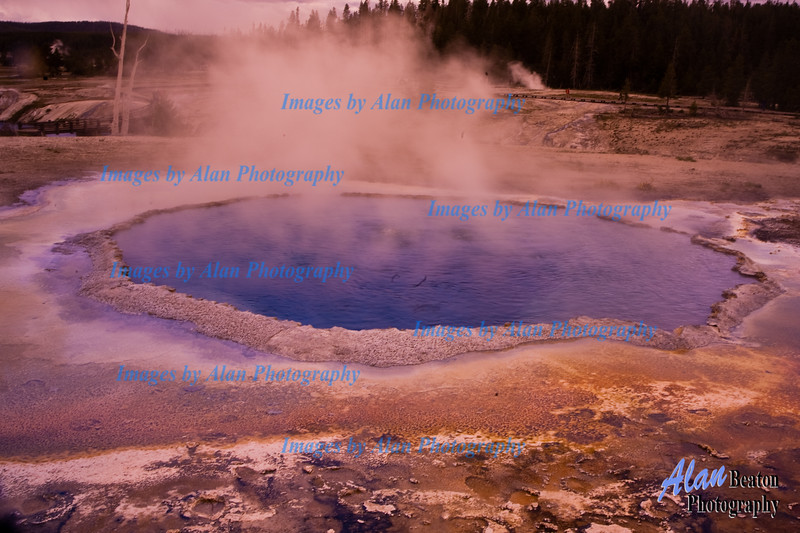 Yellowstone Thermal Spring