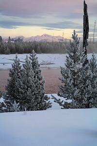 Madison valley sunrise