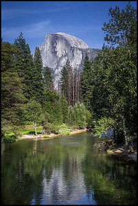 View of Half Dome from Sentinel Bridge
