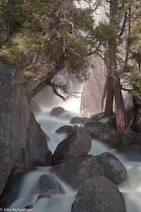 Yosemite boulder drop