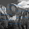 Yosemite in Monochrome