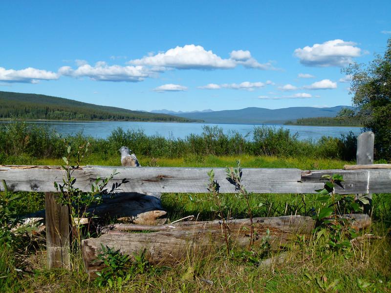 Teslin, Yukon on the Alaska Highway