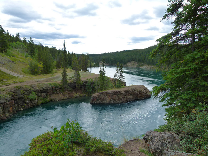 Miles Canyon in White Horse, Yukon Territory