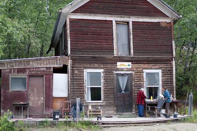 House in Dawson City, Yukon, Canada