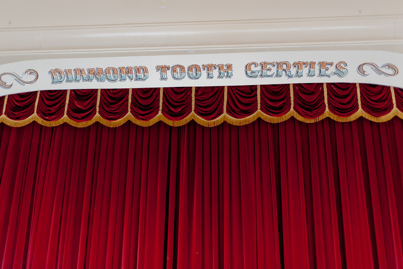 Diamond Tooth Gertie's Gambling Hall in Dawson City, Yukon, Canada