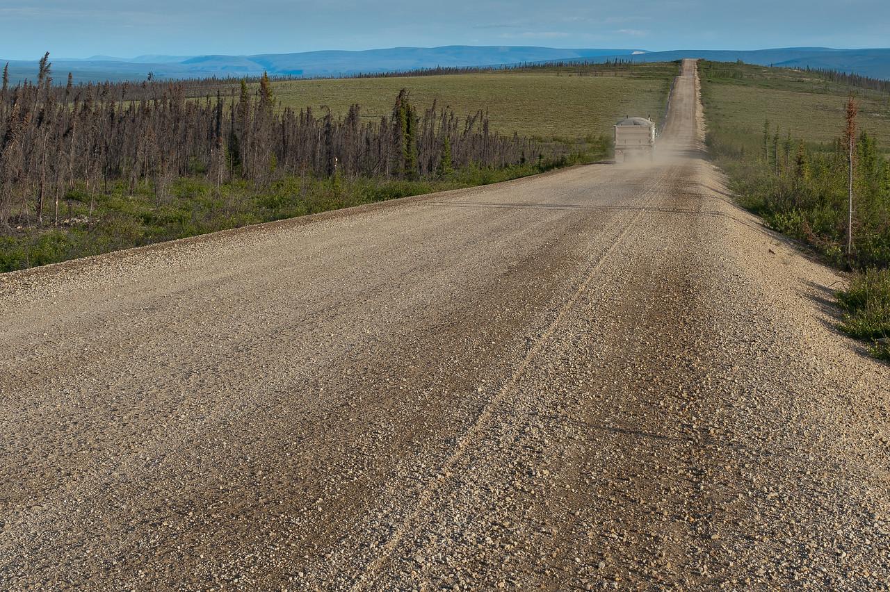 Dempster Highway in Yukon Territory, Canada