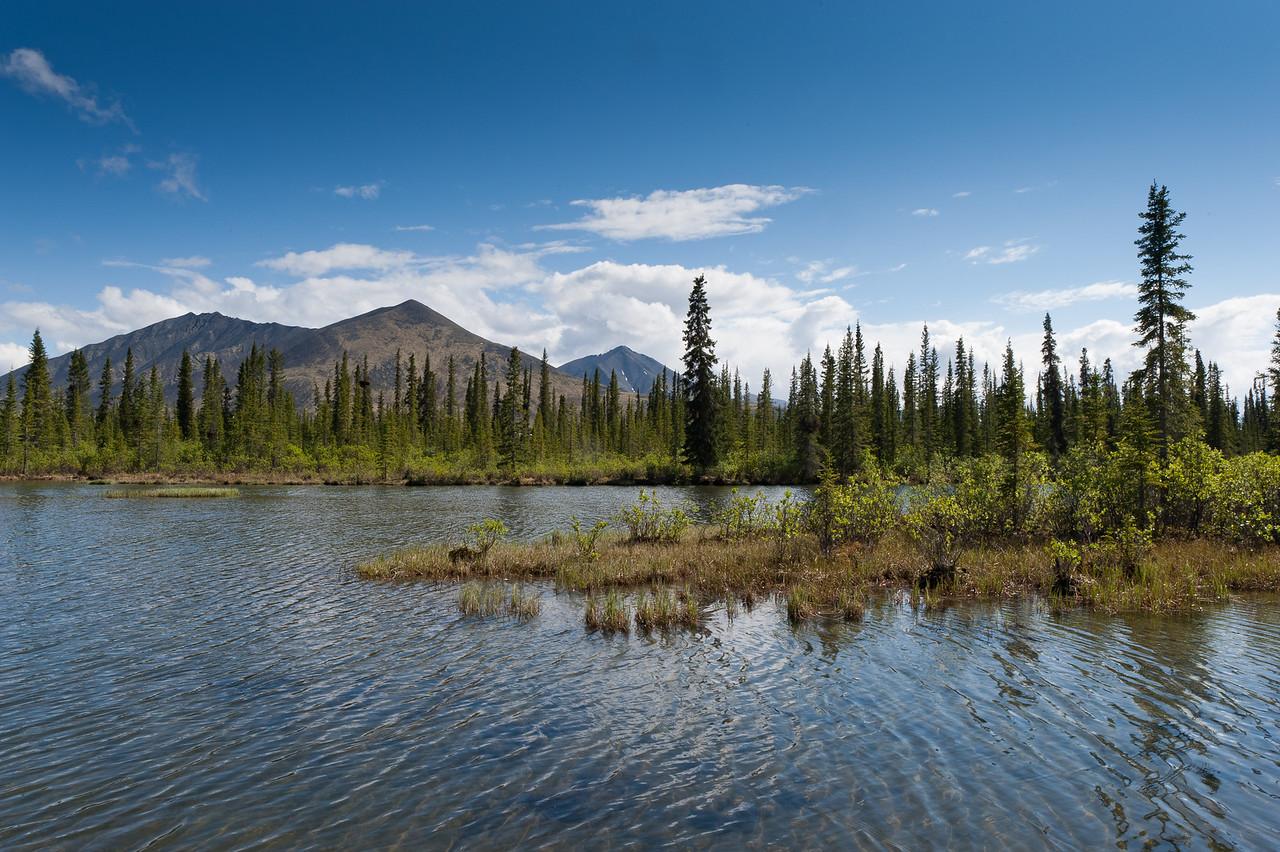 Watson Lake, Dempster Highway, Yukon, Canada