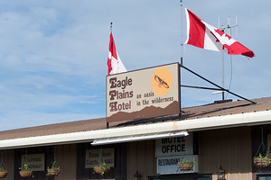 Eagle Plains Hotel, Yukon