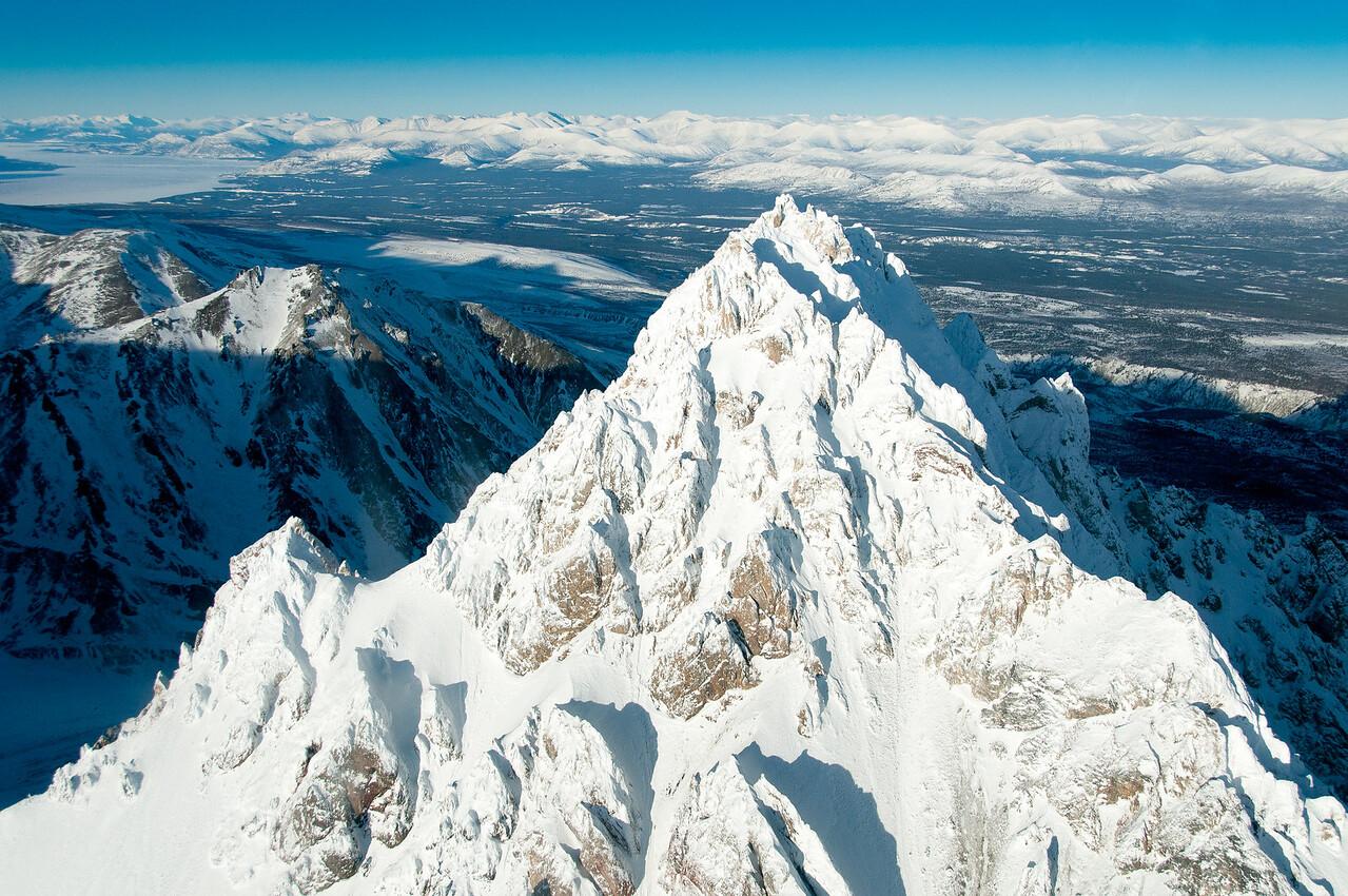 Mt. Logan in Kluane National Park, Yukon, Canada
