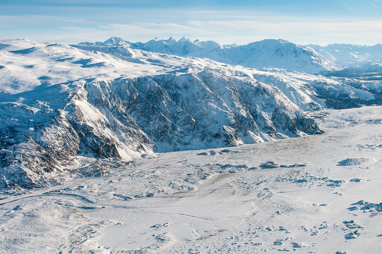 Kluane National Park in Yukon, Canada