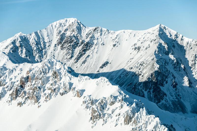 Kluane National Park in winter - Yukon, Canada
