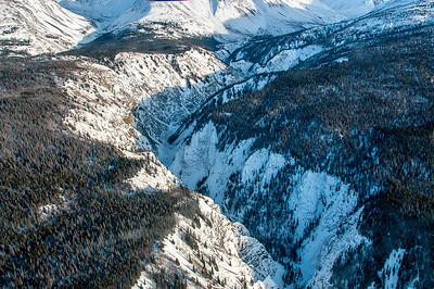 Canyon at Kluane National Park, Canada