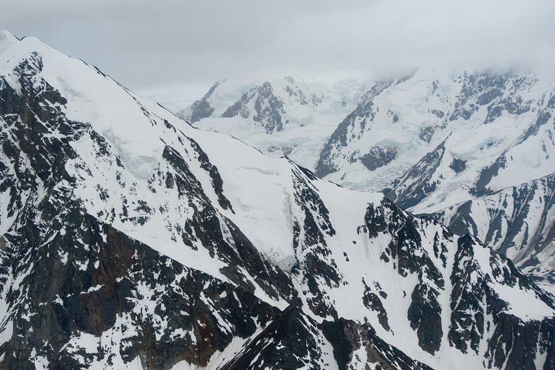 Mount Logan in Kluane National Park, Yukon, Canada
