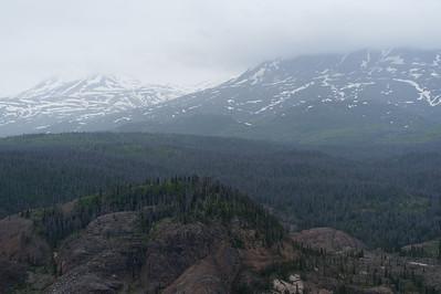 Panorama of Kluane National Park - Yukon, Canada