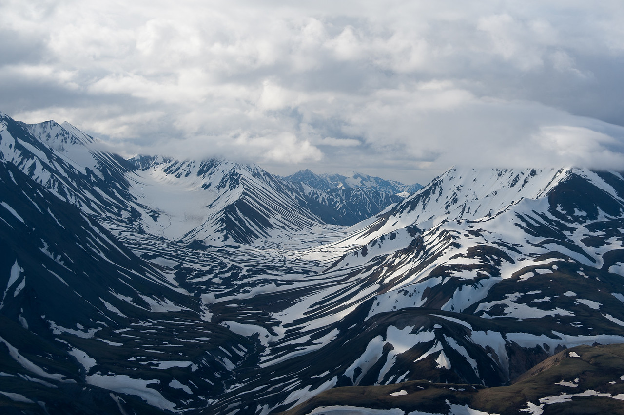 Mount Logan in Kluane National Park, Yukon, Canada