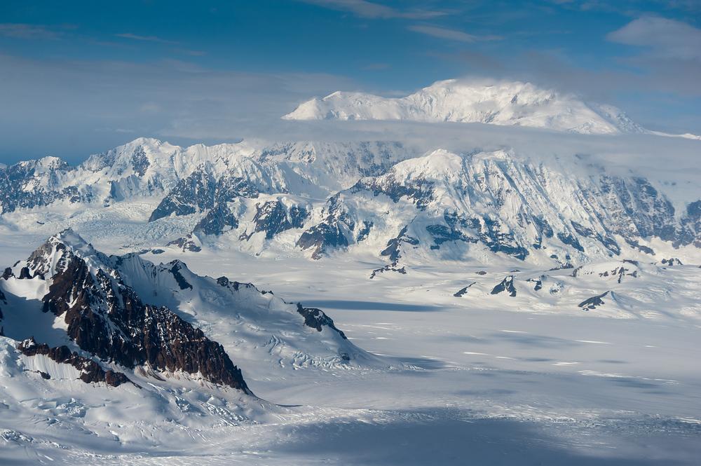 St. Elias Mountains in Kluane National Park, Canada