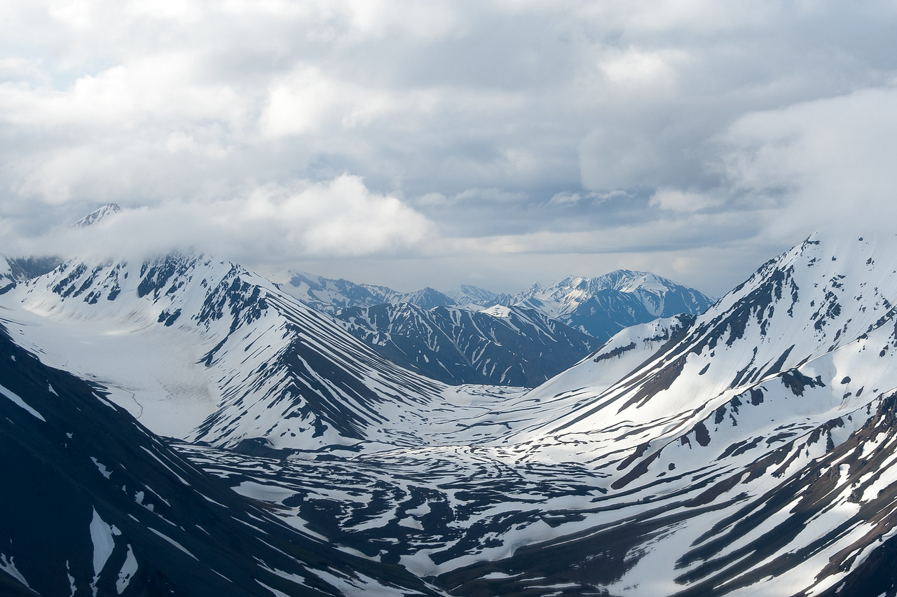 Mount Logan, Kluane National Park, Yukon, Canada
