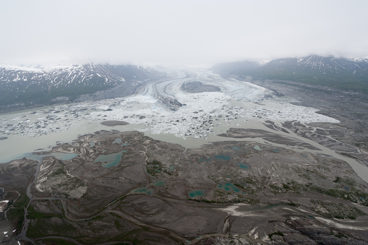 Glacier's End in Kluane National Park, Yukon Territory