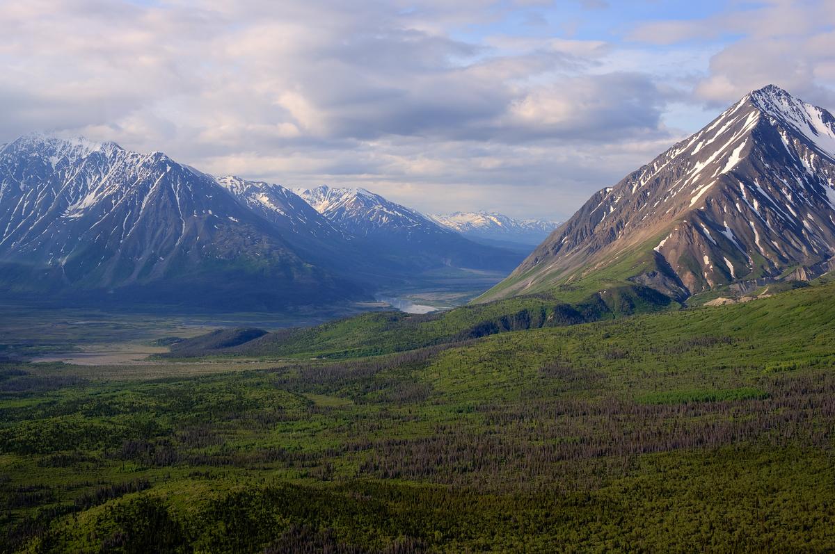 UNESCO World Heritage Site #143: Kluane / Wrangell-St Elias / Glacier Bay / Tatshenshini-Alsek