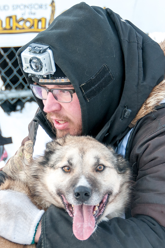 musher and dog