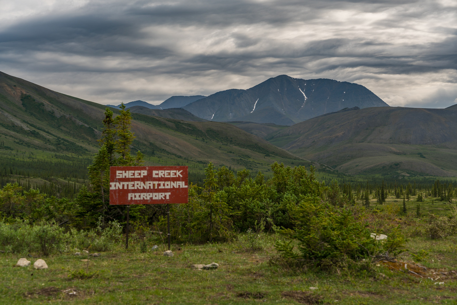 Welcome to Sheep Creek in Ivavvik National Park in Yukon Canada