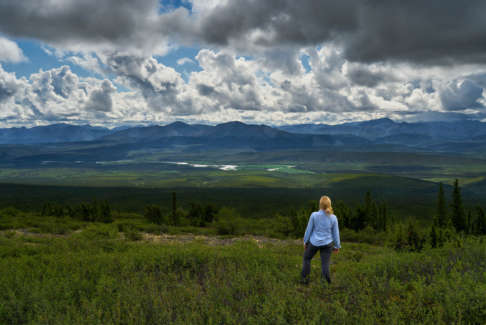 Epic scenery along the Dempster Highway