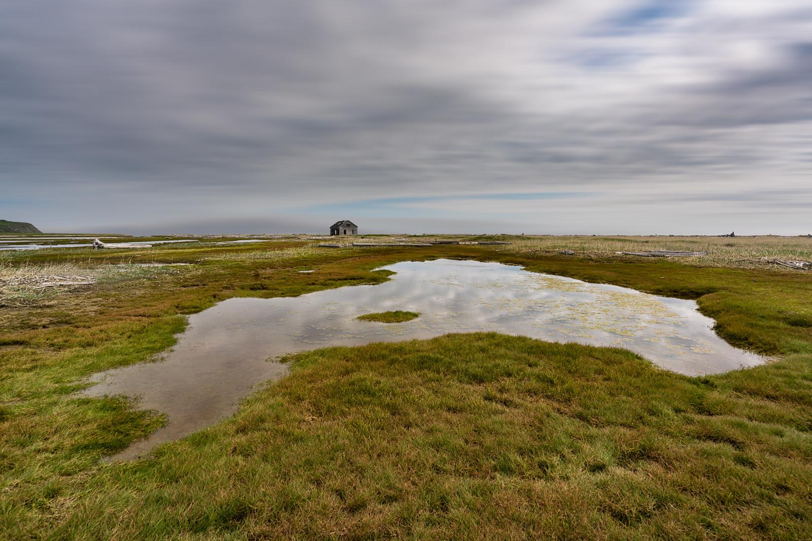 Herschel Island in Yukon, Canada
