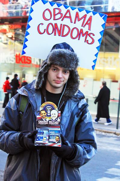 Obama Condoms For Sale, Times Square, Manhattan, New York