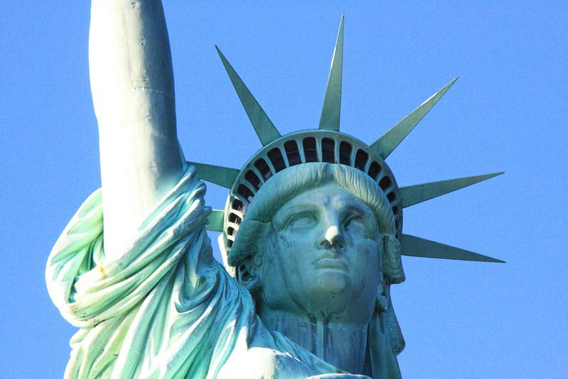 Statue of Liberty, Liberty Island, New York Harbor, Manhattan, New York City