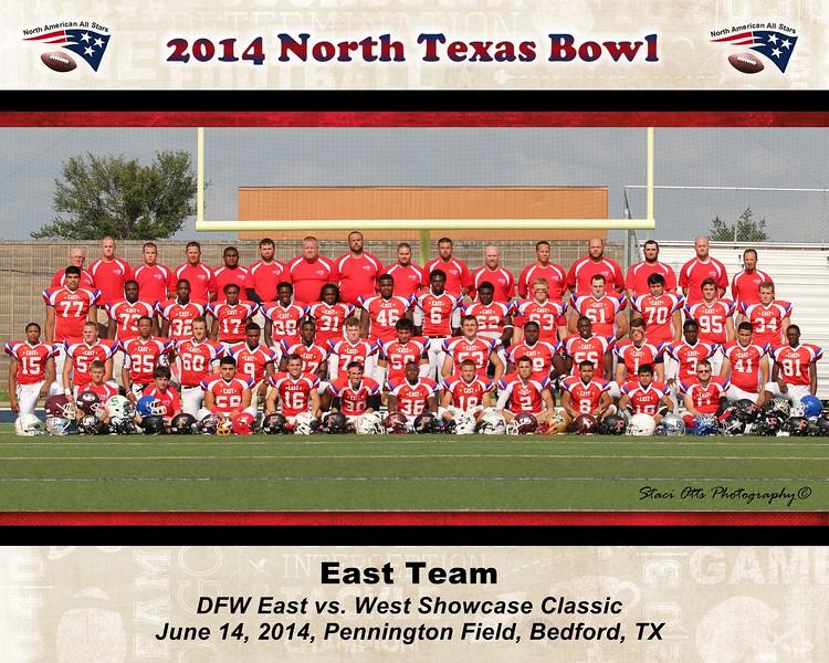 8x10 East Team Photo