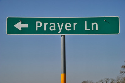 Prayer Lane off of SH105