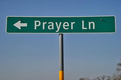 Prayer Lane off of SH105