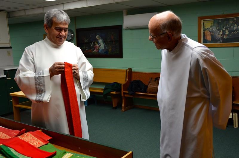 Fr. Giovani and Fr. Richard