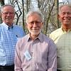 The retreat planning team: Fr. John van den Hengel, David Schimmel (US Province director of Dehonian Associates) and Fr. Jim Schroeder.