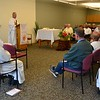 Fr. Jim was the main celebrant of Tuesday's Eucharist