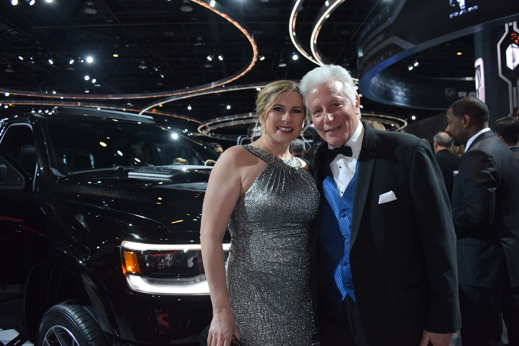 . The Charity Preview to the NAIAS held on Friday night gave guests and opportunity to check out the dazzling display of cars while enjoying an evening for charities in and around Detroit. MITCH HOTTS -THE MACOMB DAILY