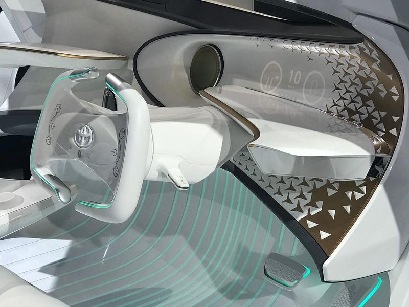 Toyota Concept interior.